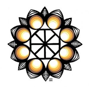 paper cut Mandala // wycinanki by Izabela Nowak Design