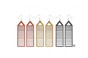 020 Jewelry wood earrings Izabela Nowak 3