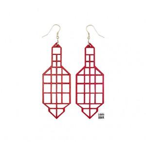 022 Jewelry wood earrings Izabela Nowak 1 sm