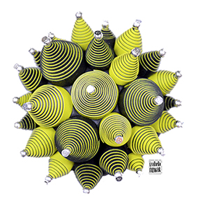 Spiral up AD Izabela Nowak 012 polymer clay