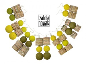 Upcycling jewelry by Izabela Nowak