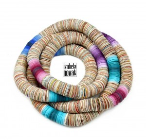 Upcycling jewelry by Izabela Nowak Design